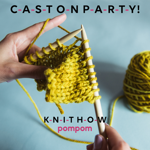 Beginners Knitters cast on party !