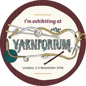 I am exhibiting at Yarnporium!