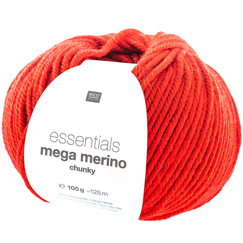 Rico essentials mega merino 009 red
