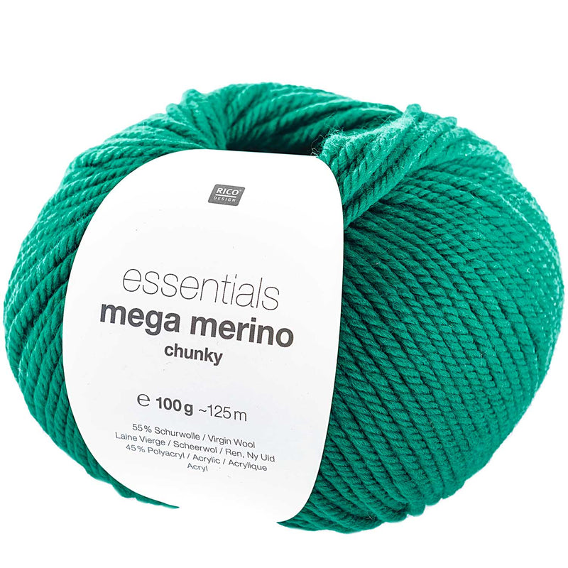 Rico essentials mega merino 011 green