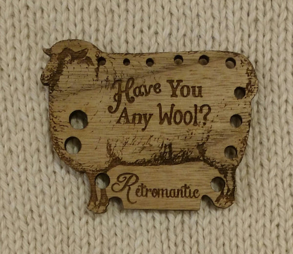 Needle Gauge - 'Have you any wool?'
