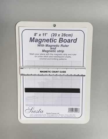 Magnetic Chart Keeper