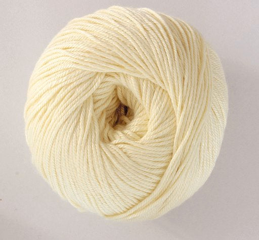 Stylecraft Naturals Bamboo+Cotton_ Buttermilk 7129