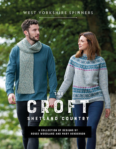 West Yorkshire Spinners - Croft Shetland Country Book