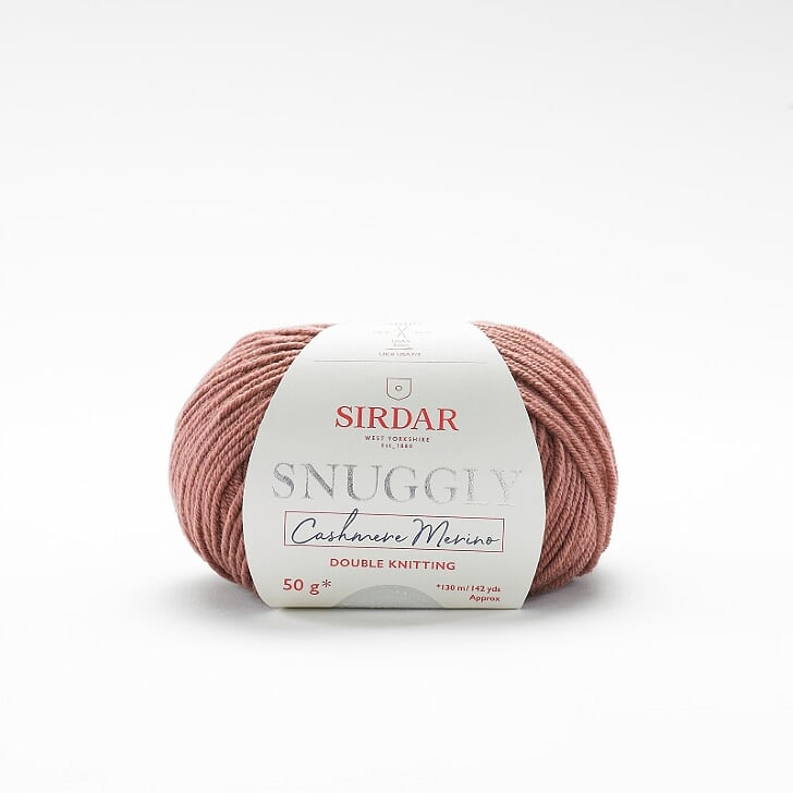 Snuggly Cashmere Merino  Dust Rose 463