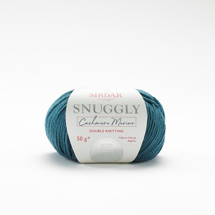 Snuggly Cashmere Merino  Teal 471