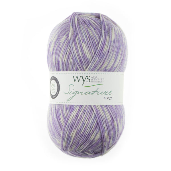 West Yorkshire Spinners - Signature 4 Ply - Floristry Collection