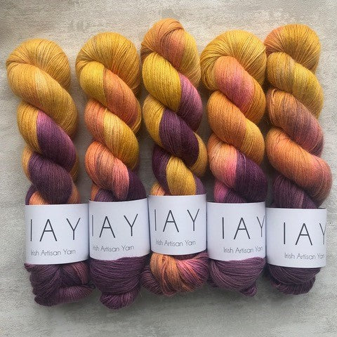 Irish Artisan Yarn - Baby Alpaca -silk- 4 ply