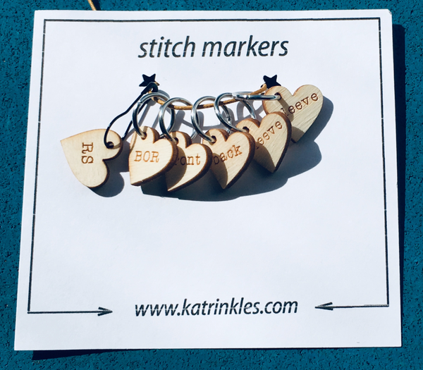 Katrinkles - Stitchmarkers instructions