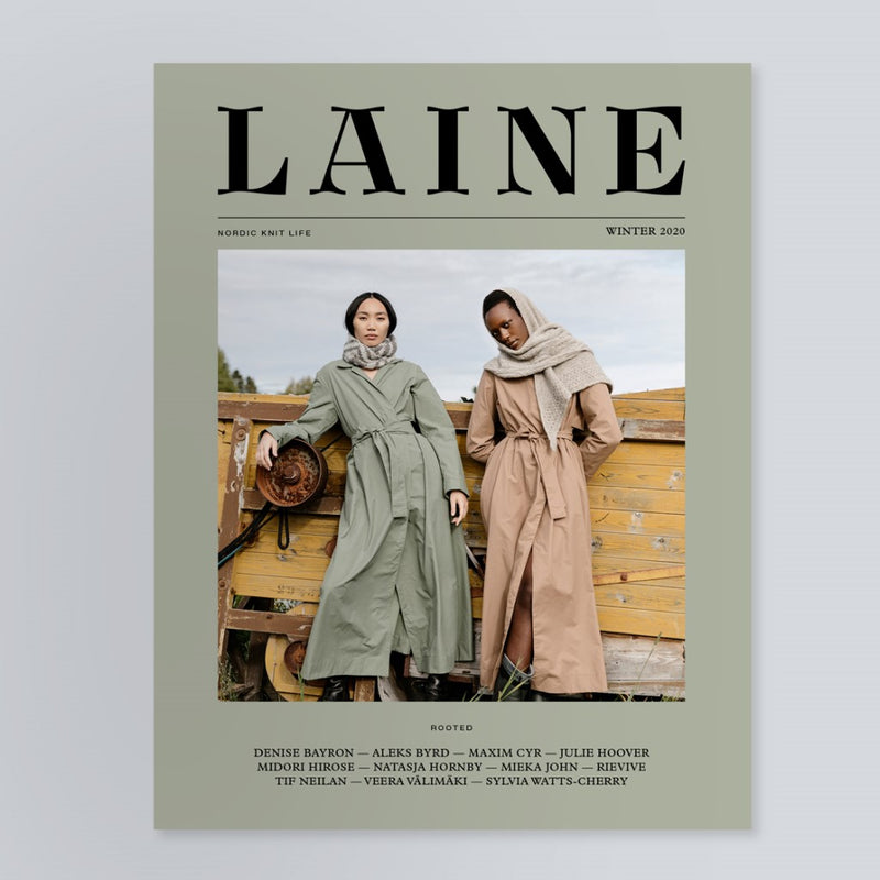 Cover_Laine_issue 10_Nordic_Knit_Life