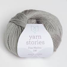 Lunar Grey Yarn Stories Merino DK