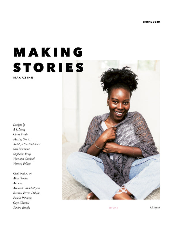 Making Stories issue 3 Spring 2020 cover