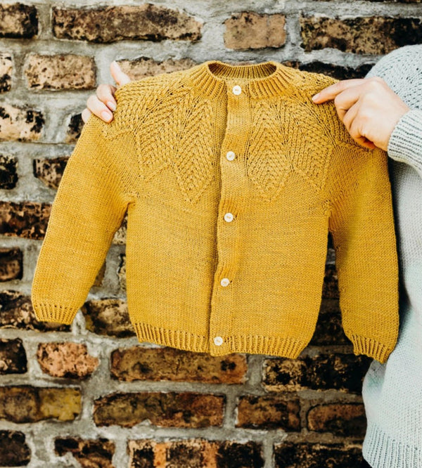 Making Stories Yellow Cardigan Kids 4 | Idas House