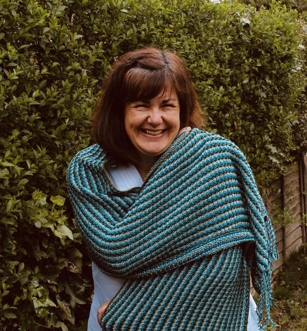 Kit - We will meet Again Shawl by Sarah Goodwin - Sirdar 100% cotton