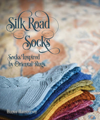 Silk Road Socks - Socks Inspired by Oriental Rugs by Hunter Hammersen