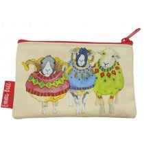 Emma Ball_Sheep in Sweaters_Zip purse_PU10