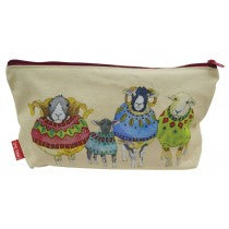 Emma Ball_Sheep in Sweaters_Zip Pouch_ZP02