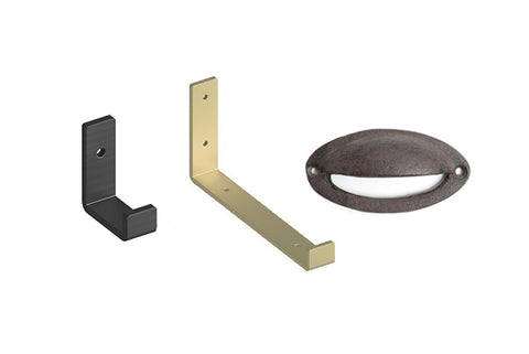 Cast Iron Hooks & Decor