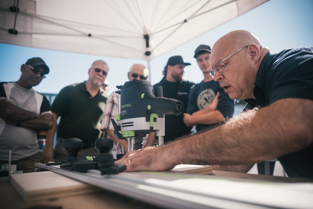 Festool Demo Day at KJP Select Hardwoods