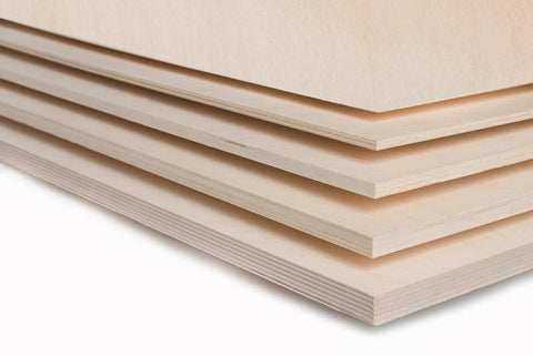 Baltic Birch plywood for furniture, laser cutting, and crafts