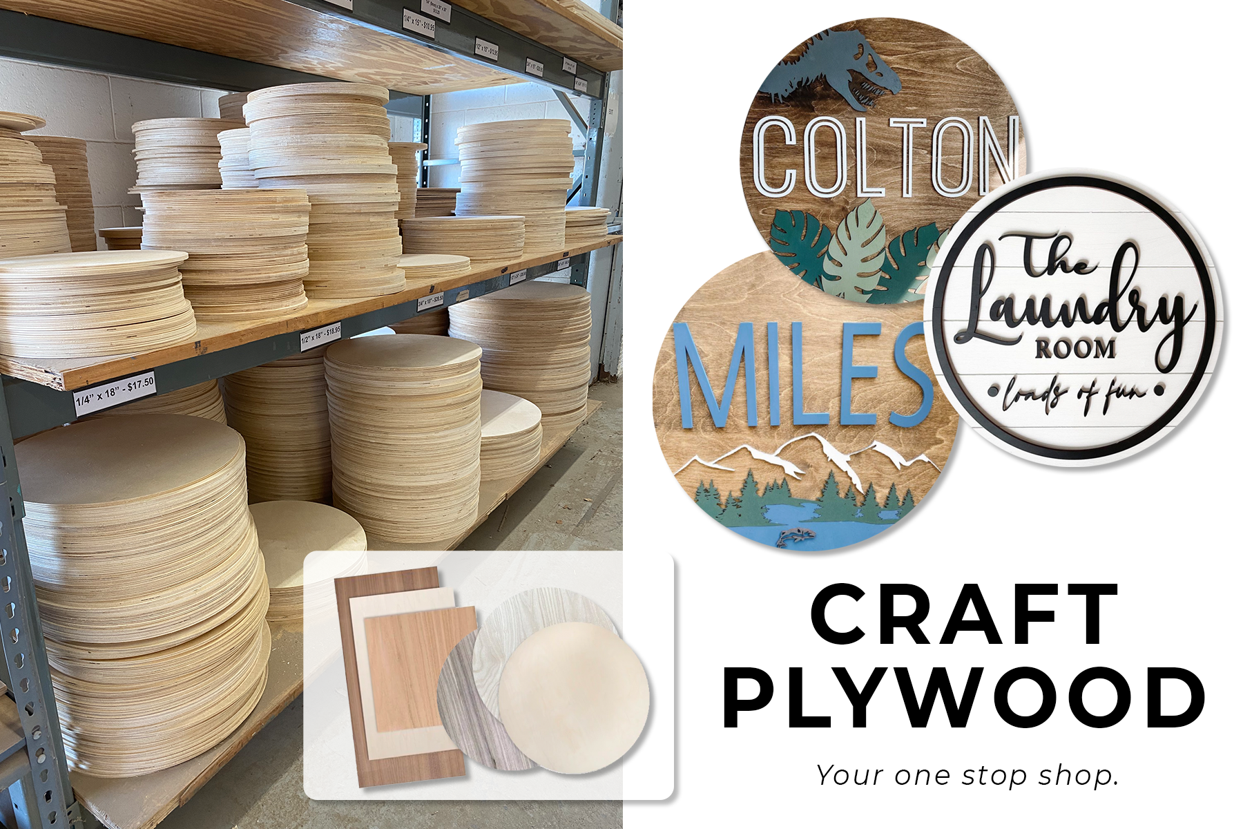 Craft plywood available for sale in Canada
