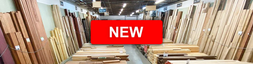 New wood products available at KJP Select Hardwoods in Ottawa