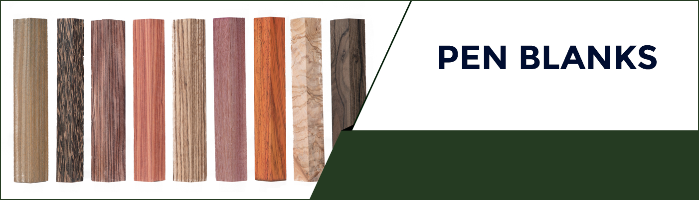 Pen Blanks available at KJP Select Hardwoods in Ottawa, Canada