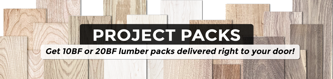 Project Packs of lumber shipped right to your door