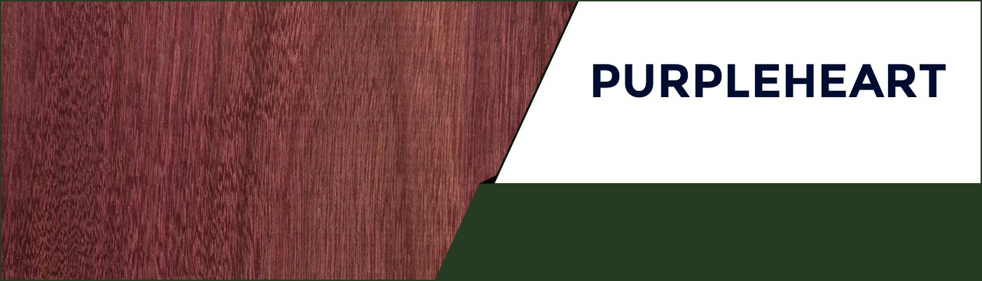Purpleheart available at KJP Select Hardwoods in Ottawa, Canada