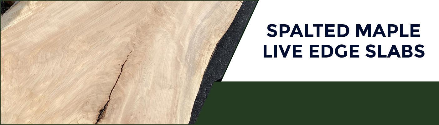 Spalted Maple Live Edge Slabs