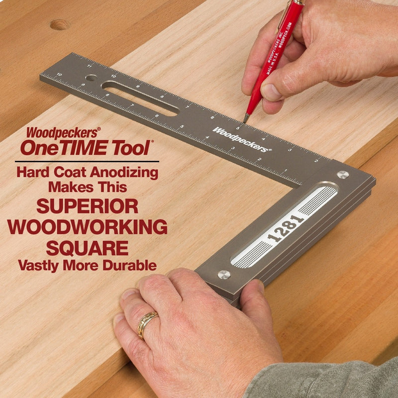 1281SE Special Edition Woodworking Square - OneTIME Tool
