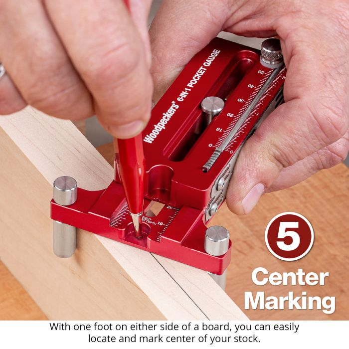 6-in-1 Pocket Gauge - OneTIME Tool