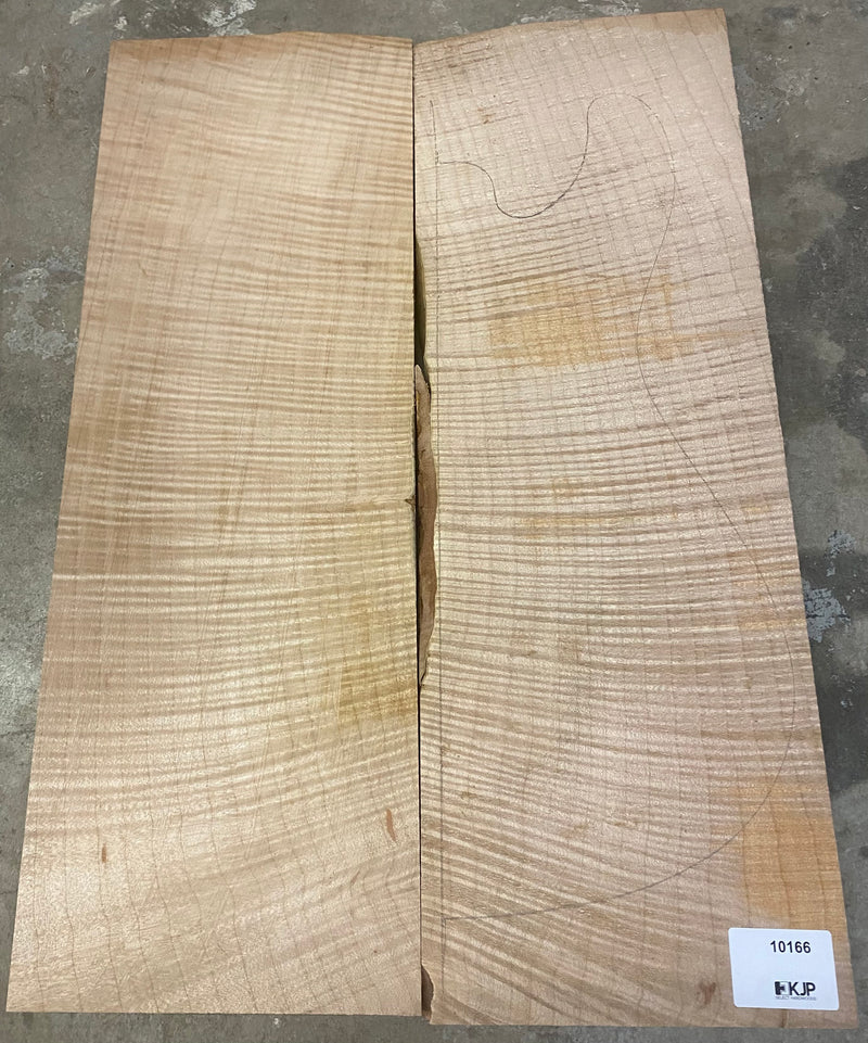 Flame Maple Top - 10166