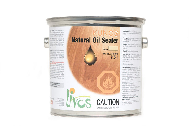 Livos Natural Oil Sealer - Kunos 244