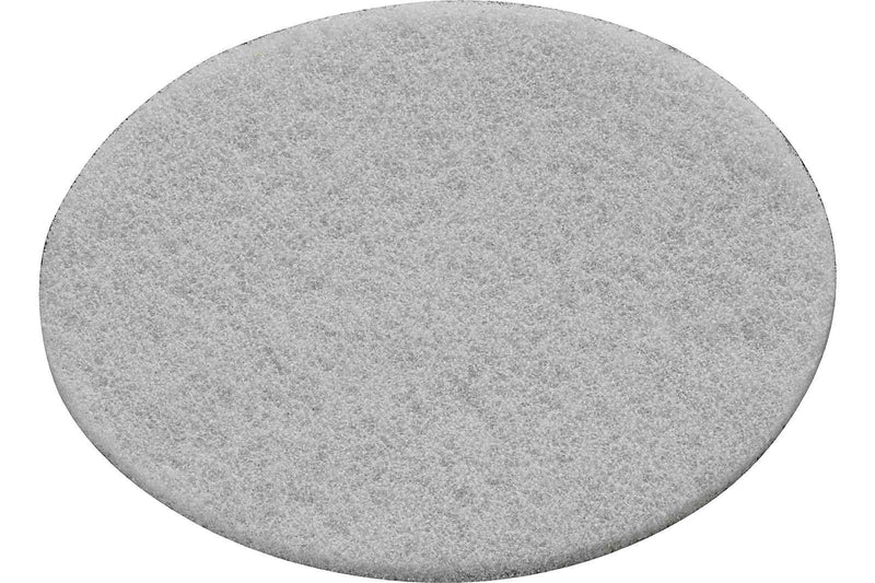 White Vlies Oiling and Waxing Pads for 125 Sanders (10 Pack)