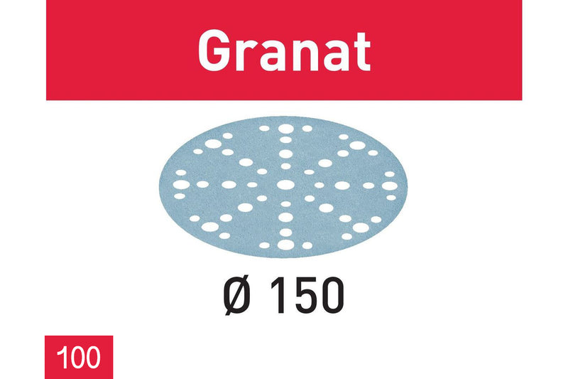 150mm Granat Abrasives (100 Pack)