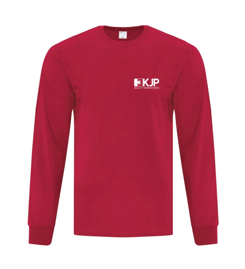 KJP Long Sleeve T-Shirts - Cardinal Red