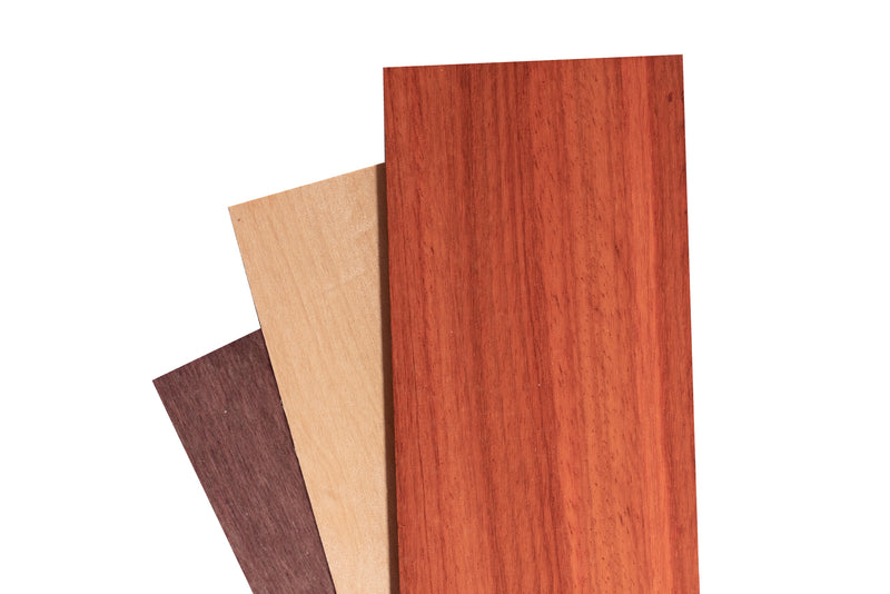 "Exotic Wood Thins Package (1/4"")"