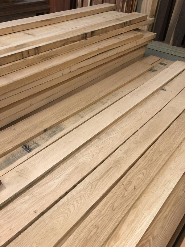 8/4 Red Oak Lumber