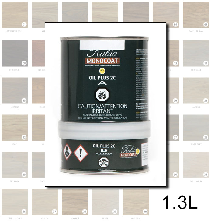Rubio Monocoat Colours - 1.3L