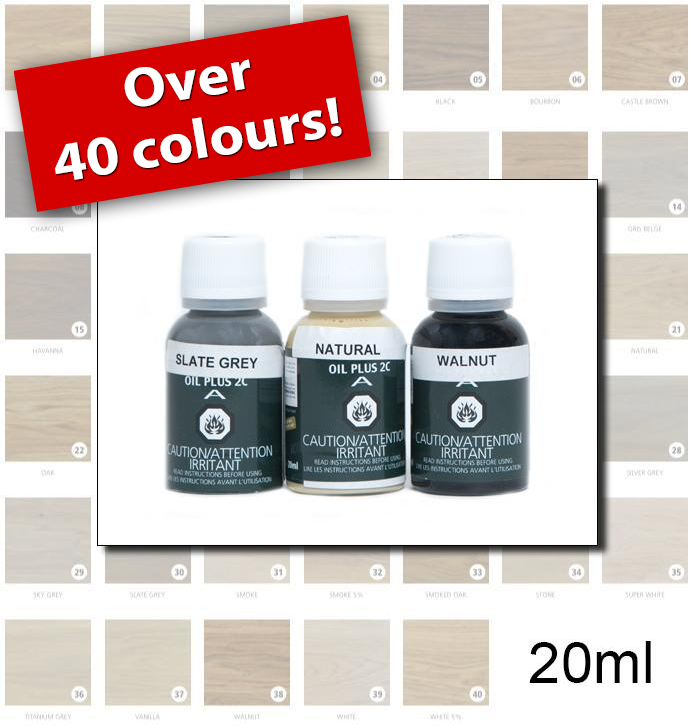 Rubio Monocoat Colours - 20ml