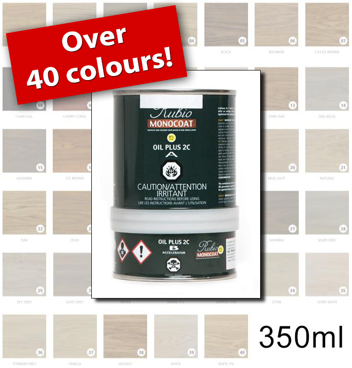 Rubio Monocoat Colours - 350ml
