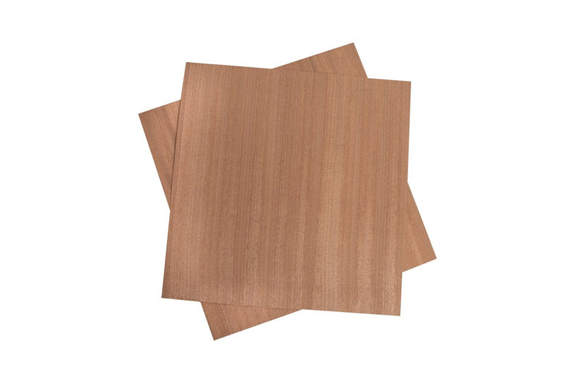 Sapele Peel and Stick Veneer for Cricut and silhouette