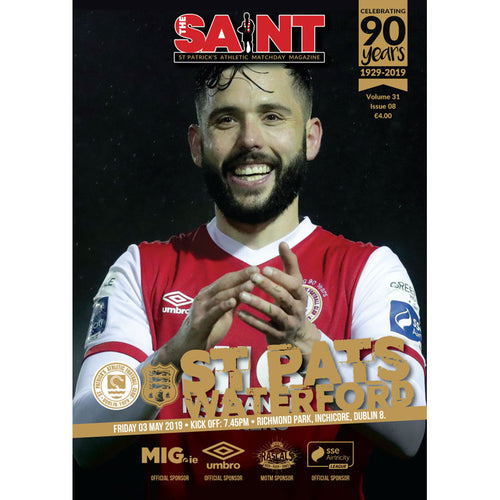 The Saint: Matchday Magazine Volume 31 Issue 8