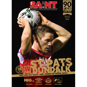 The Saint: Matchday Magazine Volume 31 Issue 4