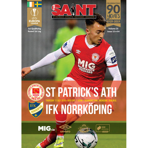 The Saint: Matchday Magazine Volume 31 Issue 31