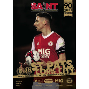 The Saint: Matchday Magazine Volume 31 Issue 1