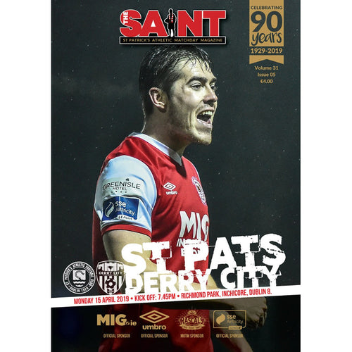 The Saint: Matchday Magazine Volume 31 Issue 5