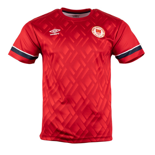 2021 St Patricks Athletic F.C. Warm Up Jersey Away - Red