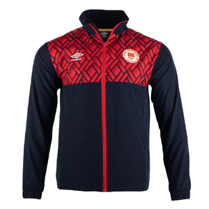 2021 St Patricks Athletic F.C. Walk Out Jacket Away - Navy